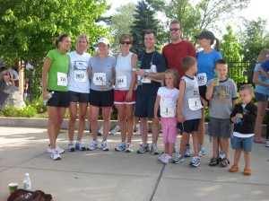 Us girls, along with 2 husbands who ran!  Kids are there just to look cute :)